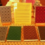 handmade books by Michelle Parrish at Food for Thought