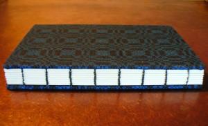 blue tencel spine