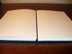 journal opens flat