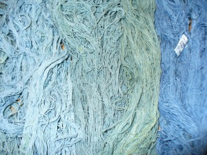 woad overdyed with weld
