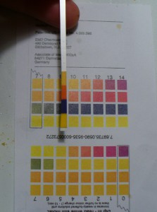lichen vat pH