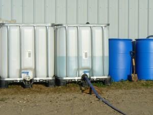Amethyst Farm water
