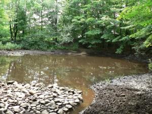 Gilmanton retting pond outlet