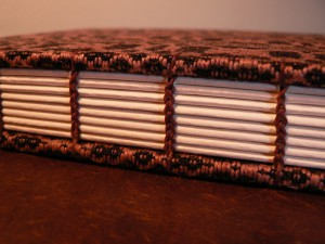 madder dyed pattern weft