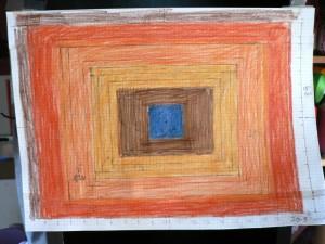 orange rectangle rya