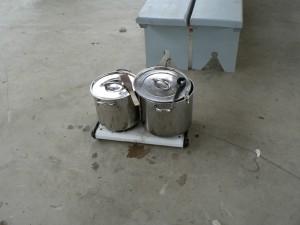 stove setup