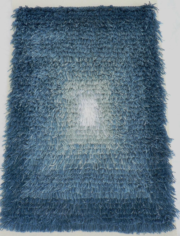 woad blue rya cropped