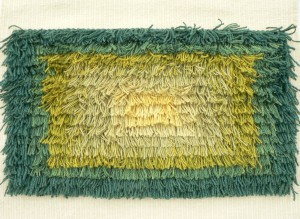 green and yellow rya