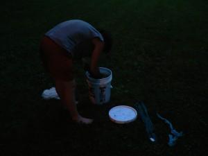 dyeing in the dark