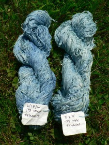 not-green cotton yarns