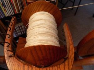 wet spun yarn