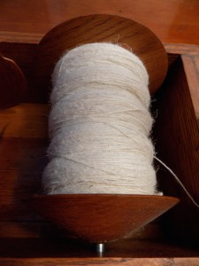 dry spun yarn