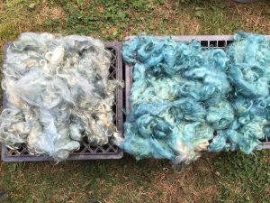 two batches of mohair
