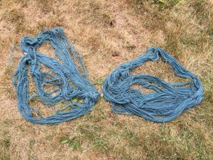 yarns oxidizing