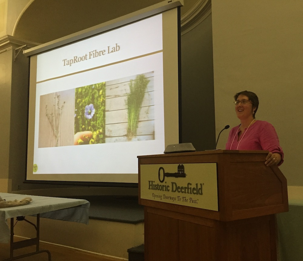 Patricia Bishop TapRoot Fibre Lab